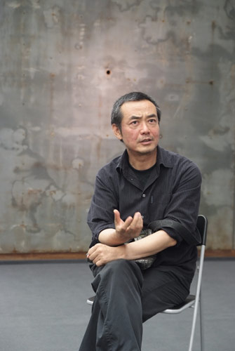 Portrait of Sui  Jianguo 隋建國. .