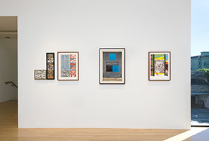 Installation photography, R.B. Kitaj: Collages and Prints, 1964-1975
