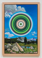Don Suggs / Tuolumne, 2013 / oil on canvas / 48 x 32 in. (121.9 x 81.3 cm) / Framed Dimensions: 53 x 37 x 2 in. (134.6 x 94 x 5.1 cm)