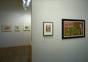 Installation photography, Indian Miniatures, 16 February - 17 March 1990