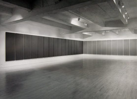Alan Charlton installation photography, 1991
