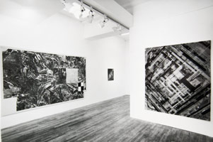 American/European Part II installation photography, 1986
