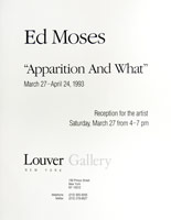 Ed Moses announcement, 1993