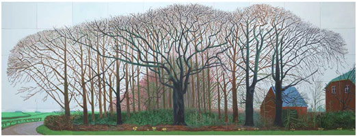 Bigger Trees Near Warter or/ou Peinture Sur Le Motif Pour Le Nouvel Age Post-Photographique, 2007<BR>