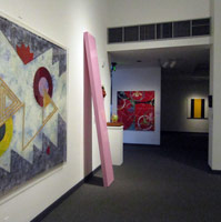 Installation photography<BR>California Art:<BR>Selections from the Frederick R. Weisman Art Foundation