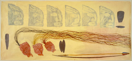Three Scalps, 1986<BR>