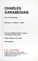 Charles Garabedian announcement, 1989