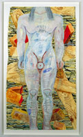 Study for the Iliad (Kouros figure), 1991<BR>