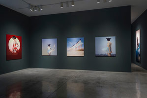 Installation photography<br>Rogue Wave Projects: Chen Man<br> East - West / East - West / 東 - 西