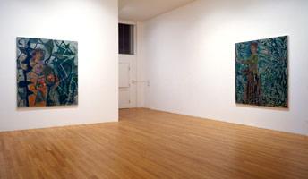 Christopher Le Brun installation photography, 1992