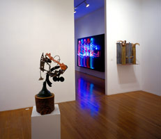 Contemporary Assemblage - The Dada and Surrealist Legacy<BR>installation photography, 1990