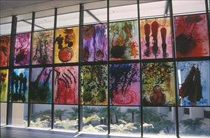 Dale Chihuly<BR>National Gallery of Australia<BR>installation photography, 2000