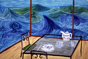 Breakfast at Malibu, Wednesday, 1989<BR>
