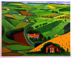 The Road Across the Wolds, 1998<BR>