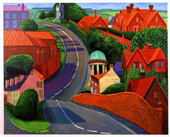 The Road to York Through Sledmere, 1997<BR>