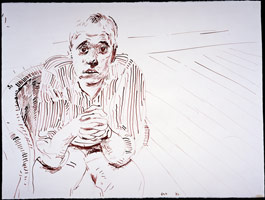 Ian in a Wicker Chair I, 1982<BR>