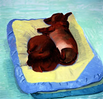 Dog Painting 22, 1995<BR>