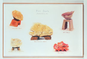 5 Bowls, 1990<BR>