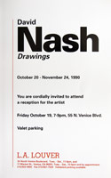 David Nash announcement, 1990