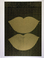 Lips, 1960's<BR>