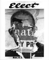 Torn Poster (Elect), 1960's<BR>