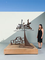 Installation photography, Mark di Suvero: Sculptures and Drawings