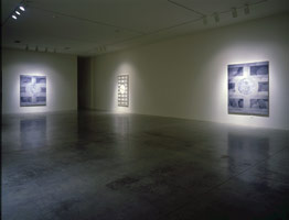 Domenico Bianchi installation photography, 1996