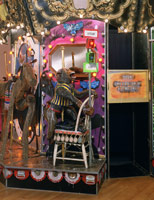 The Merry-Go-World or Begat By Chance and the Wonder Horse Trigger (detail), 1988 - 92<BR>