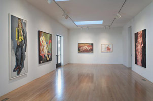 Installation photography, Figuration: Paintings and Drawings