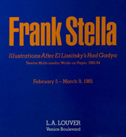 Frank Stella<BR>Illustrations after El Lissitzky's Had Gadya 1982 - 84<BR>catalogue, 1985