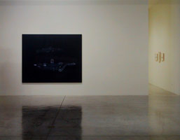 Guillermo Kuitca installation photography, 2002