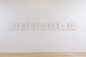 Installation photography<br>Frederick Hammersley: The Computer Drawings 1969