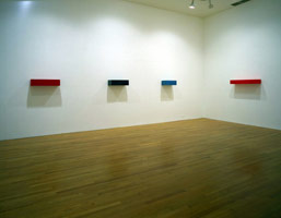 John McCracken installation photography, 1994