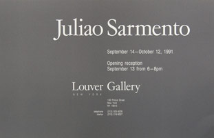 Juliao Sarmento announcement, 1991