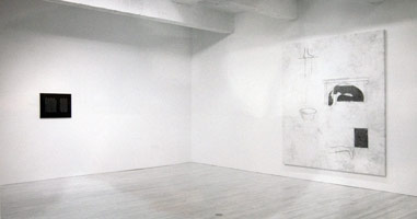 Juliao Sarmento installation photography, 1991