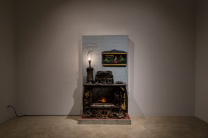Installation photography / Kienholz Televisions