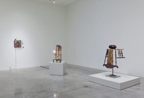 Installation photography, Kienholz Before LACMA