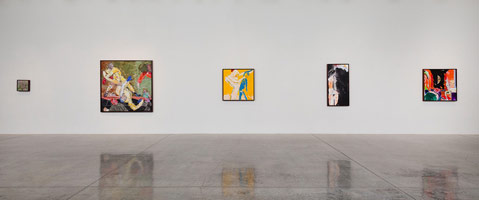 Installation photography, R.B. Kitaj
