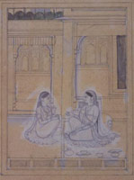 Punjab Hills Painting<br>