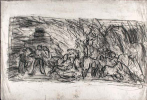From Goya: Sketch for Summer or Harvesting<br>