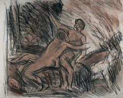 From Titian: Venus and Adonis<br>