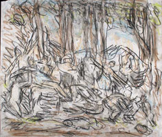 From Poussin: The Triumph of Pan, 1990s <br>