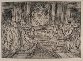 From Poussin: The Judgement of Solomon<br>
