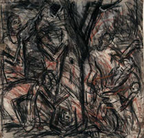 From Titian: The Flaying of Marsyas<br>
