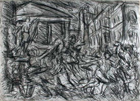 From Poussin: The Rape of the Sabines<br>