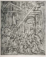 From Veronese: The Adoration of the Kings<br>