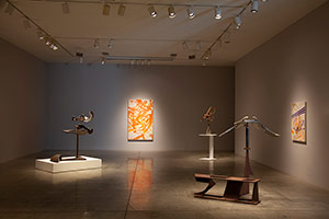 Installation photography, Mark di Suvero: Painting and Sculpture