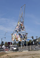 Installation photography, Mark di Suvero: Artists' Tower of Protest