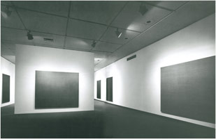 New Abstract Painting (Max Cole) exhibition photography, Los Angeles County Museum of Art, 1976