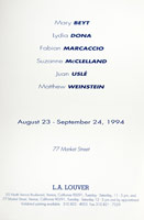 Painting Language announcement, 1994